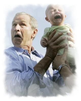 Plärren wegen Bush