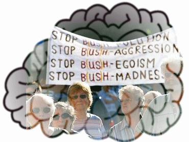 Stop Bush Collage