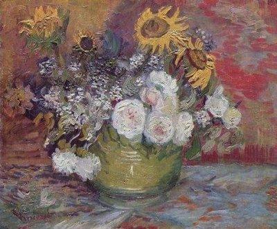 Van Gogh : Rosengarten