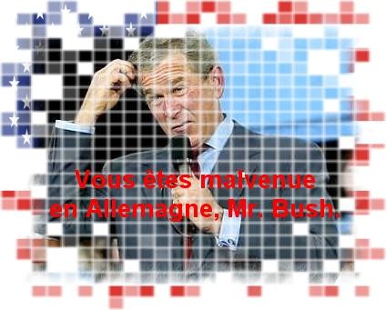 Malvenue, Mr. Bush